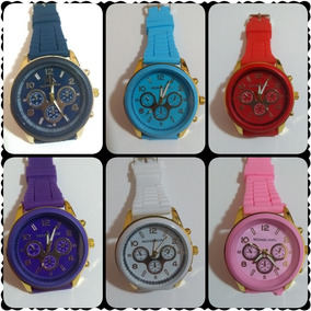 6e9bbca318d Relogio Colorido Para Revenda Lote - Relógios De Pulso no Mercado ...