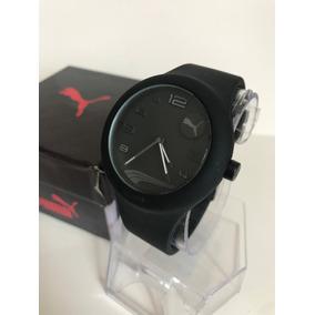 Reloj Puma Negro Dama Silicon 08