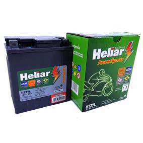 Bateria Moto Heliar Htz7 Honda Titan 150 Esd/sport Original