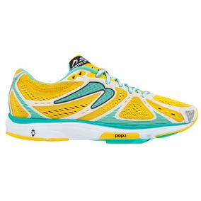 Zapatos Deportivos   Newton Running   Amarillos   Mujer
