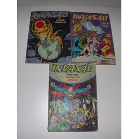 Serie Invasão Vol 1,2 E 3 - Editora Abril