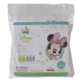Fralda De Pano 65x65cm 05 Unds Disney Baby - Minnie