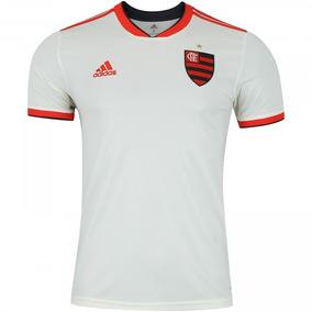 Camiseta Adidas Branca Com Listras - Camisetas e Blusas Manga Curta ... 7c1a930310871