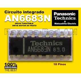 Ci An6683n Driver Do Motor Toca-disco Technics