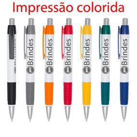 100 Canetas Modelo 511 Personalizadas - Impressão Colorida
