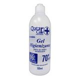 Alcool Gel 70% Higienizador 500ml - Qatar Care