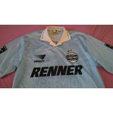 Camisa Do Grêmio Celeste Oficial 1996 Penalty Renner Xl 13b31a4d127d2