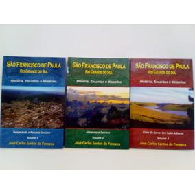 São Francisco De Paula Rio Grande Do Sul Volumes 1 E 2 E 3
