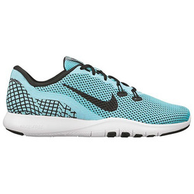 Tenis Nike Air Flex Trainer 898481-300 Verde-negro Dama Oi