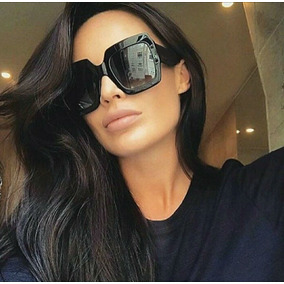 Oculos De Sol Retangular Quadrado Feminino - Óculos De Sol Sem lente ... f0b657ba08