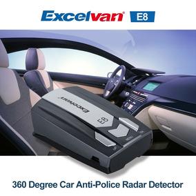 Atenção! Detectores De Rada E8 A Laser 360 Com Frete Gratis!