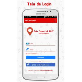 Aplicativo Guia Comercial Android 2018