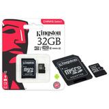 Cartao De Memoria 32gb Micro Sd Cl10 80mb/s Kingston Canvas