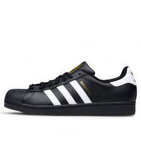 34120c7d03f Tênis adidas Superstar Foundation Black   White
