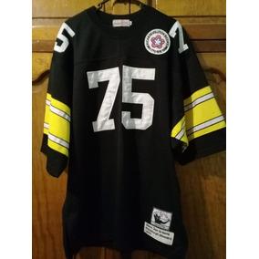 b3a91067ad3 Jack Lambert Hof Autografiado Pittsburgh Steelers Jersey De. Nuevo León ·  Joe Greene Jersey Nfl Pitsburge Stellers