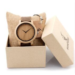 Relógio De Madeira Bobo Bird Original