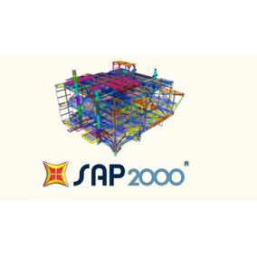Csi Sap2000 V20 Atualizado 2019! - Win 32 E 64 Bits