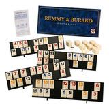 Juego De Rummy Burako Profesional Original Ruibal Mundomania