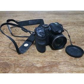 Câmera Digital Ge X500 16mp Lcd 2.7 Zoom 15x Sd 4gb Preta