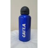 Garrafa Squeeze Alumínio Azul Caixa 500ml