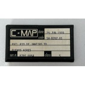 Carta Eletrônica Raymarine C-map Serie Rl Antiga.