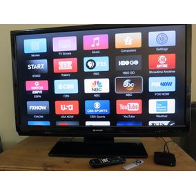 Tv Lcd - Hd - Sharp- Lc46sb54u + Apple Tv 3 Geração A1427