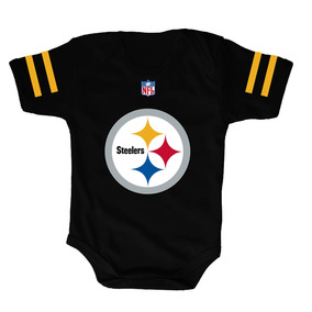 Pañalero Steelers Negro - Pañalero Personalizado a9e116b08c4