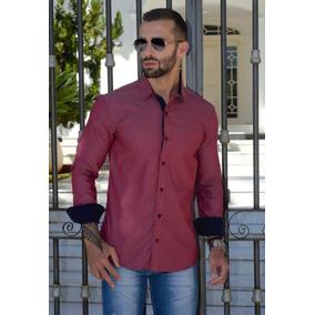 Camisas Social Masculina Slim - Atacado - Pp Ao Plus Size