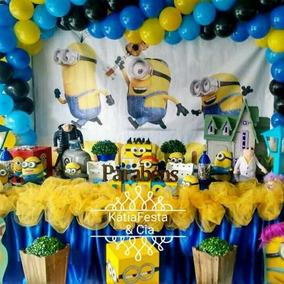 Decoração De Festa Infantil Minions - Aluguel