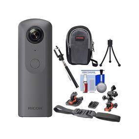 Ricoh - Theta V Camera Digital 360 Graus 4k Com Kit