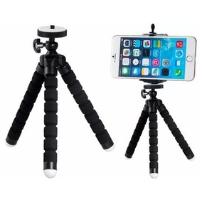 Tripé Flexível Suporte Universal Para Câmera E Celular