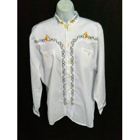 e9f47962fe Camisas Charras Bordadas - Camisas Manga Larga de Hombre en Mercado ...