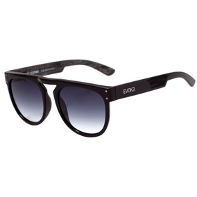 Evoke Ghost - Óculos De Sol Wd01 Black Shine Gray Wood  Gray 35b3f315f3