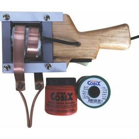 Ferro De Solda 550/110+rolo Estanho 500g+pasta De Soldar110g