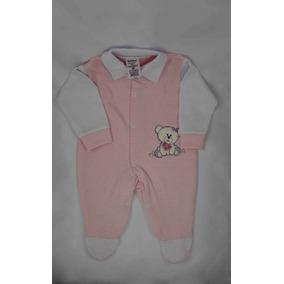 Macacão Bebê Infantil Feminino - Urso Com Flor 08e68f3beca