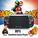 Reproductor De Videos Juegos 4.3 Mp5 ,8ghia Portatil Fm!!