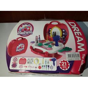 Estuche Pintura Para Niña De Plástico