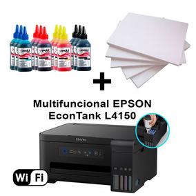 Multifuncional Epson L4150 Wi-fi C/ 12 Refis Tinta + 100fl
