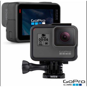 Câmera Gopro Hero 6 Black 12 Mp, Filma Em 4k, Wifi, Bt