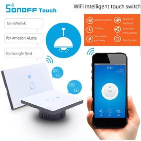 2piezas Switch Wifi Interruptor Inteligente Touch Smart Home