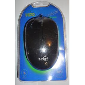 Mouse Usb Optico Alambrico Marca Hdd