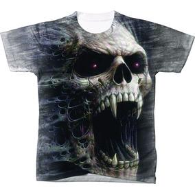 Camisa Camiseta Personalizadas Caveira 3d 777 26cb69571edb9