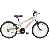 Bicicleta Infantil Aro 20 Mtb Polimet Branca