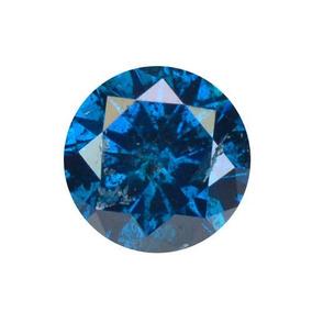 Diamante Azul Certificado .19 Quilates3.53x2.26mm