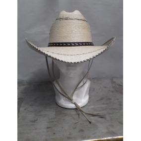 Sombrero Americano Palma Pinto Con Barbiquejo Envío Gratis 83fd66ed92b