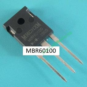 Kit 2 Diodo Retificador Mbr60100pt 60a 100v V60100 Mbr60100