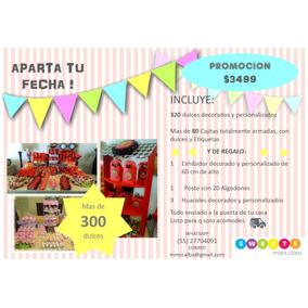 Mesa De Dulces Candy Bar Para 100 Personas