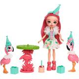 Enchantimals Fanci Flamingo Fiesta De Flamingos Original