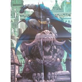 Poster Batman Sobre Gargula Panini Loja De Coleções