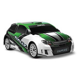 Latrax Rally: Escala 1/18 4wd Electric Rally Racer, Verde